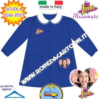 Grembiule scuola elementare Disney Soy Luna blu