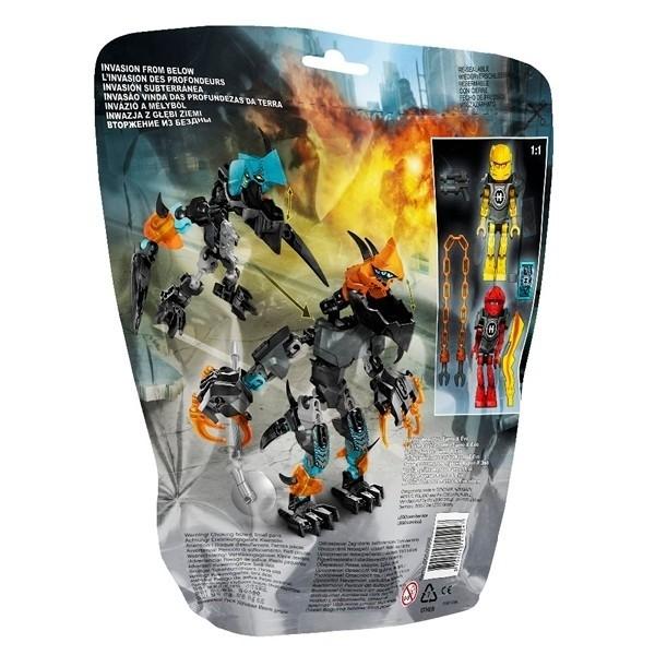 Lego Hero Factory - Splitter Beast vs. Furno & Evo