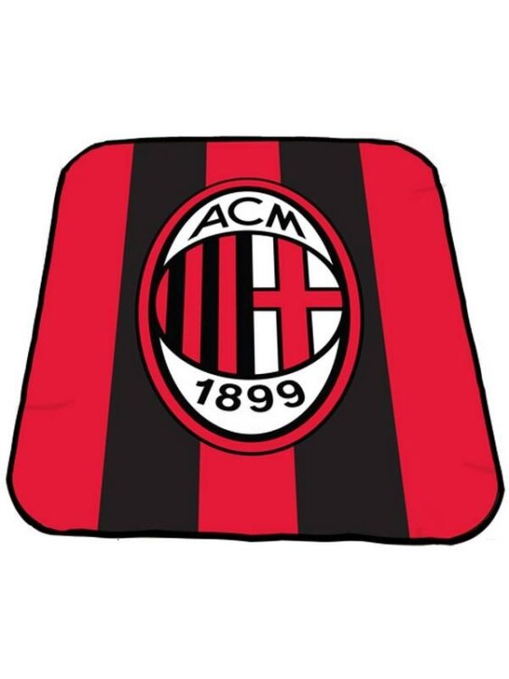 Plaid pile AC Milan