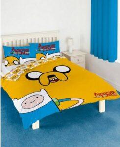 Parure copripiumino matrimoniale Adventure Time