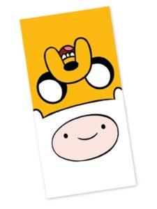 Asciugamano telo mare Adventure Time
