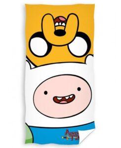 Asciugamano telo mare Adventure Time Jake e Finn
