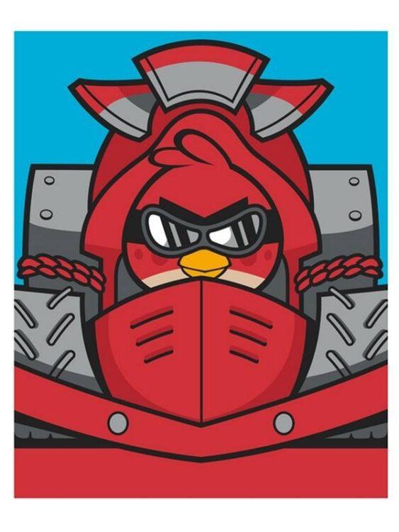 Plaid pile Angry Birds Go Fast