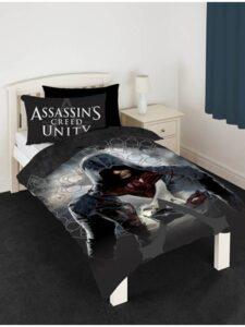 Parure copripiumino singola Assassins Creed Unity