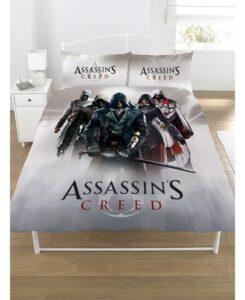 Assassin's Creed Parure copripiumino piazza e mezza/matrimoniale