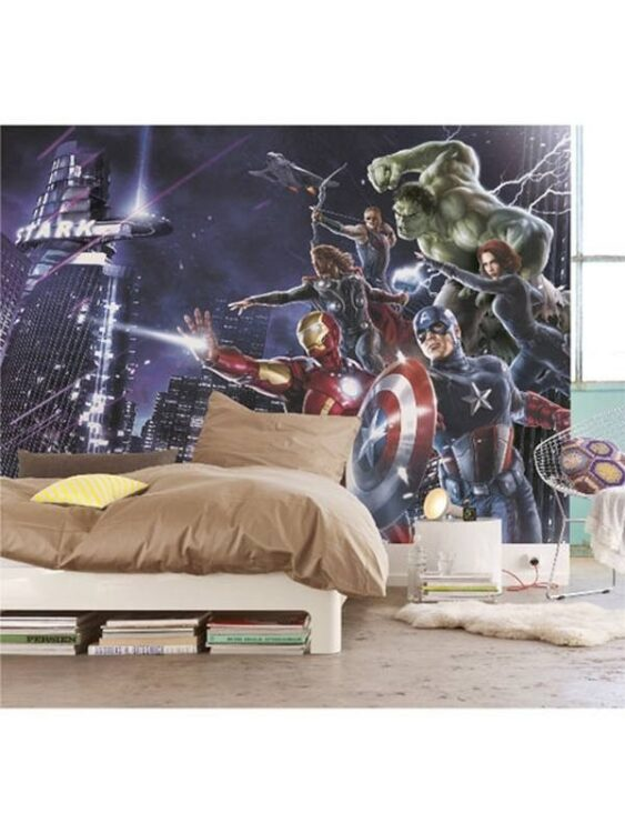 "Fotomurale The Avengers ""Citynight"" 254cm x 184cm"