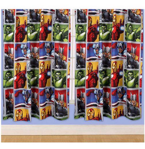 Tende per cameretta Avengers 137cm