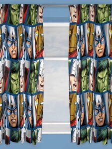 Tende per cameretta Marvel Avengers