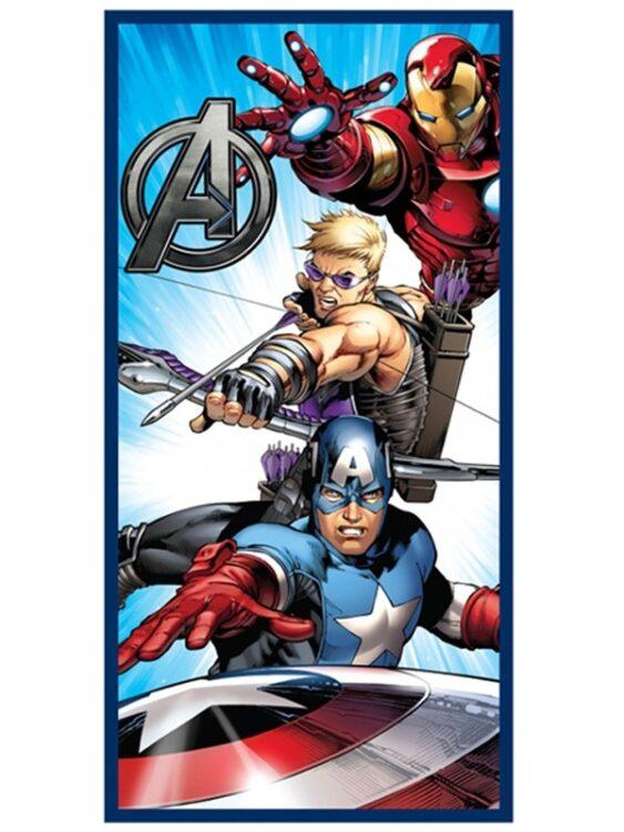 Asciugamano telo mare Marvel Avengers