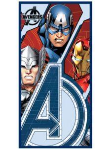 Asciugamano telo mare Avengers Trio