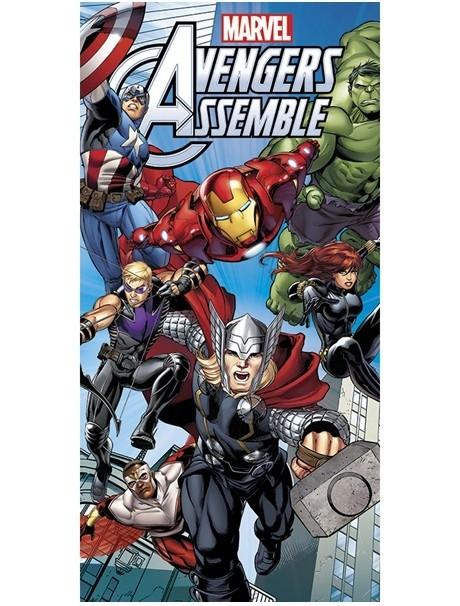 Asciugamano telo mare Avengers Assemble