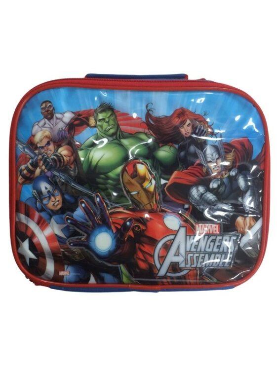 Set portamerenda Marvel Avengers 3pz