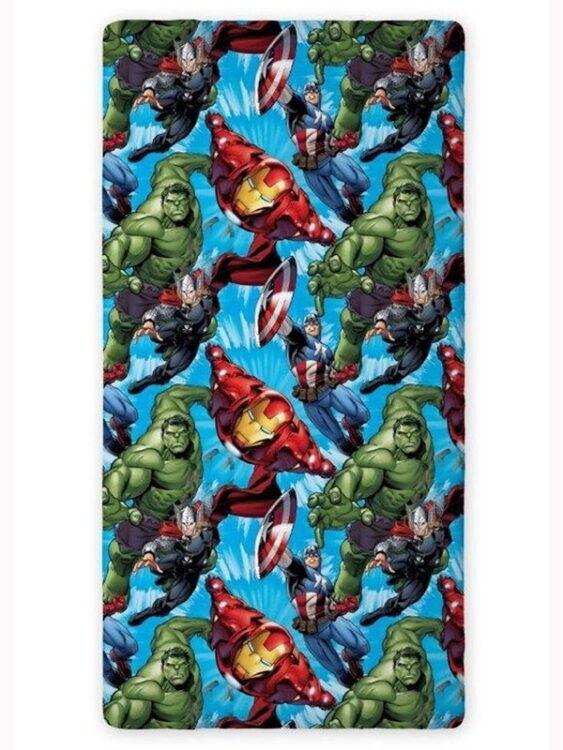 Lenzuolo di sotto con angoli Marvel Avengers