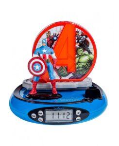 Radio sveglia con proiezione Marvel Avengers