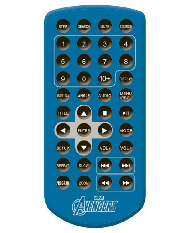 Marvel Avengers Lettore DVD portatile