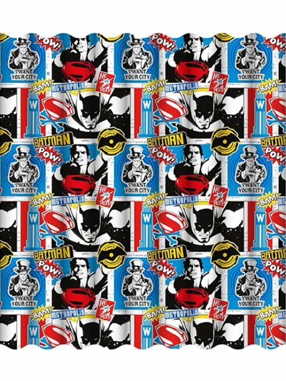 Tende per cameretta Batman vs Superman 137cm