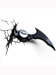 Luce da parete 3D a LED Batman Batarang