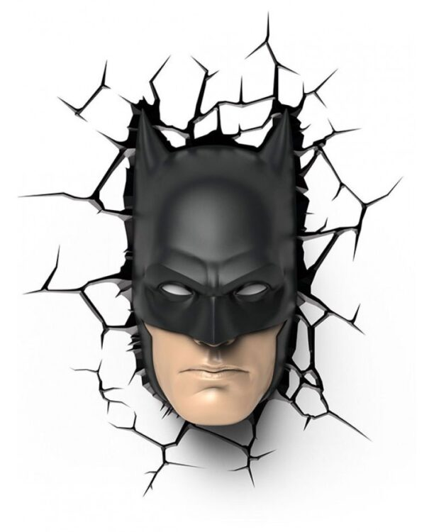 Luce da parete 3D a LED Batman Mask