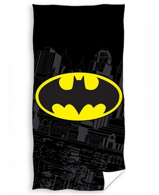 Asciugamano telo mare Batman Logo