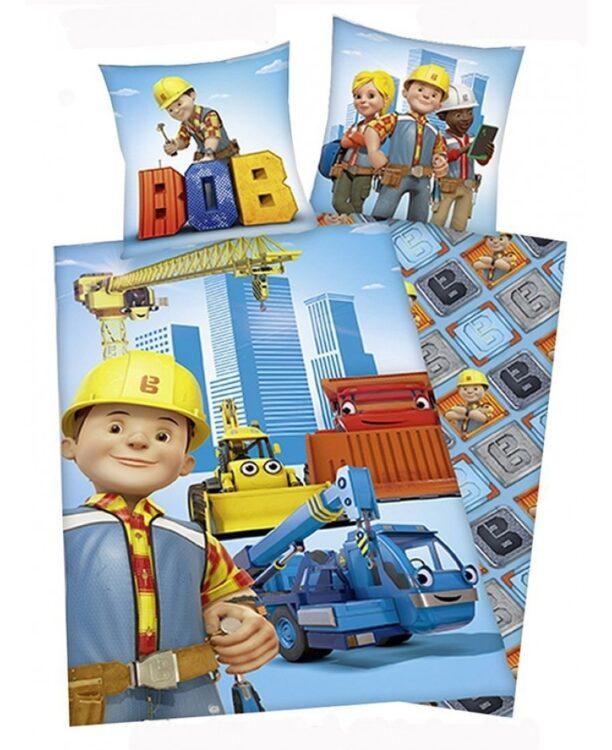 Parure copripiumino singolo Bob the Builder