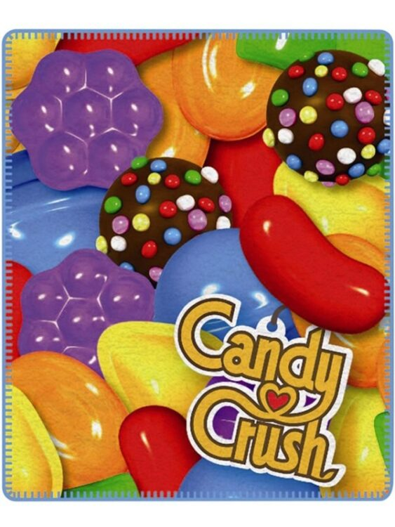 Plaid pile Candy Crush