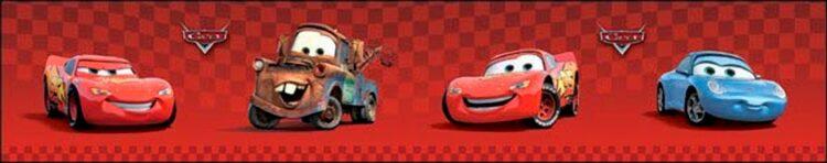 Bordo per cameretta Disney Cars
