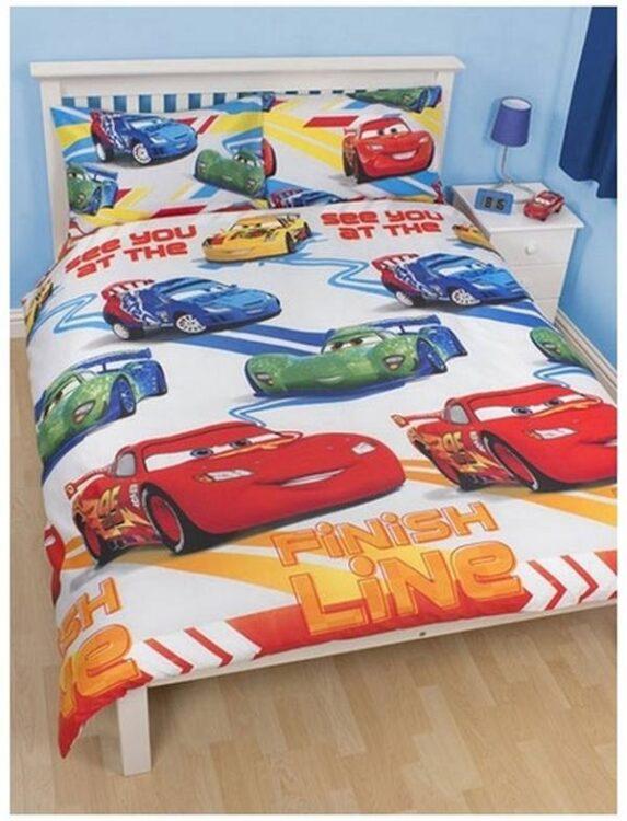 Parure copripiumino matrimoniale Disney Cars Speed