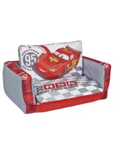 Divanetto letto gonfiabile Disney Cars Circuito