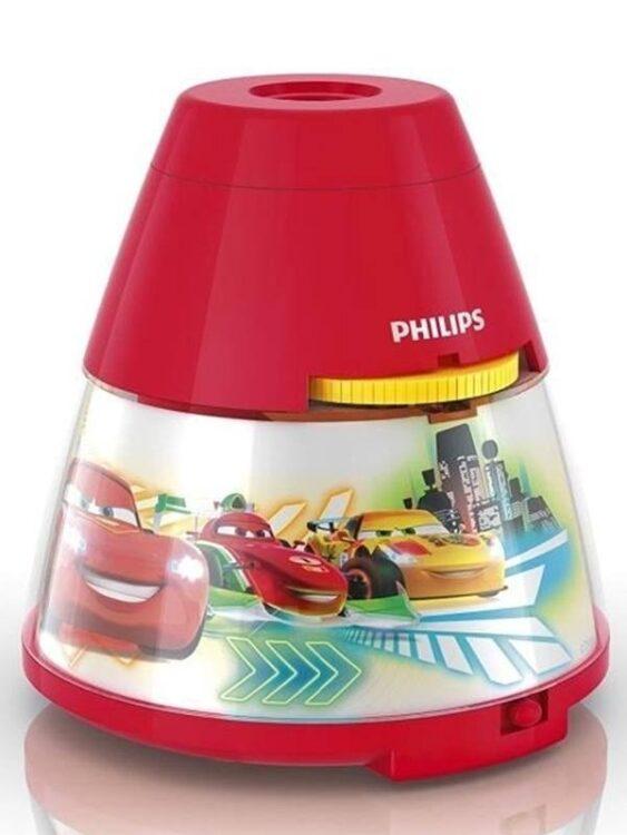 Luce notturna e proiettore a LED Disney Cars Philips