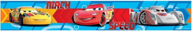 Bordo adesivo Disney Cars Speed 5mt