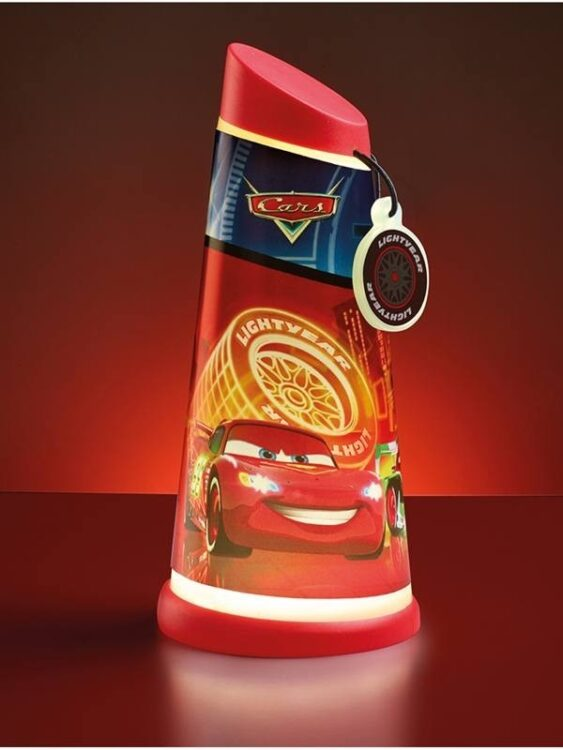 Torcia e luce notturna Disney Cars