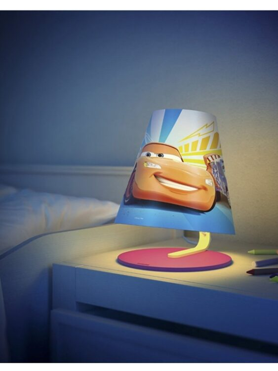 Lampada da comodino a LED Disney Cars