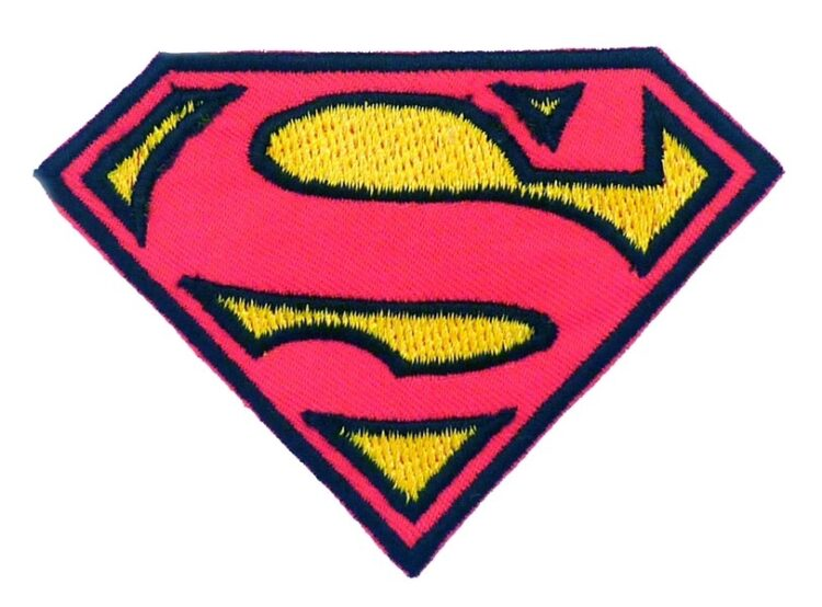 Toppa ricamata Supergirl