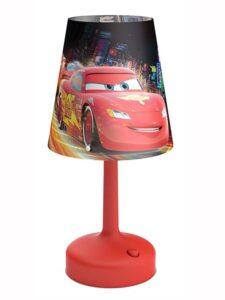 Lampada da tavolo portatile Disney Cars
