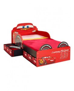 Lettino Disney Cars con cassetti