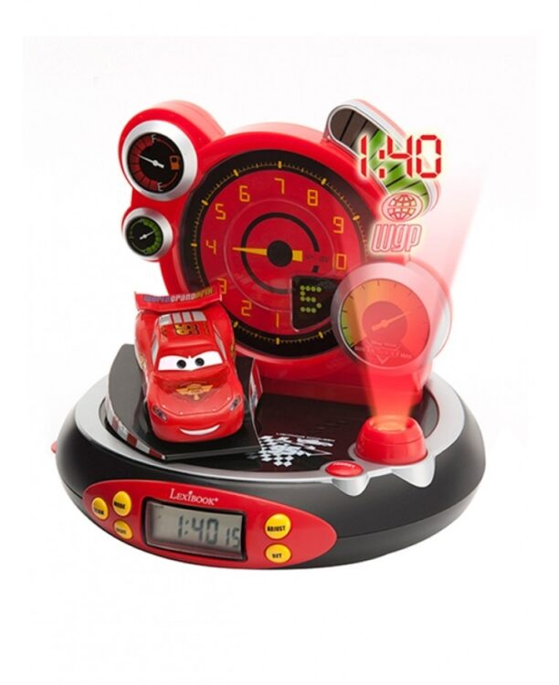 Radio sveglia con proiezione Disney Cars
