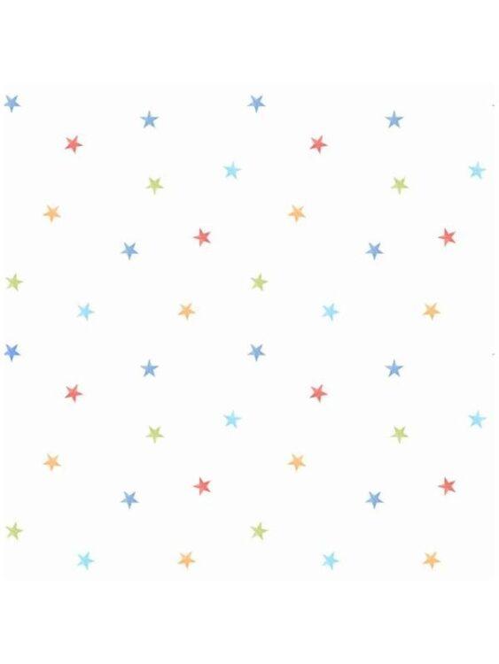 Carta da parati Stelline Colorate 10mt