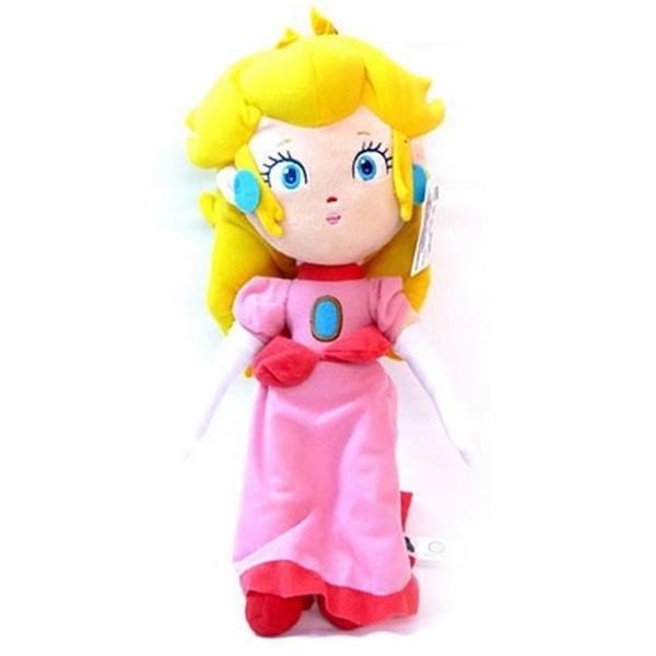 Peluche Super Mario Principessa Peach 25cm