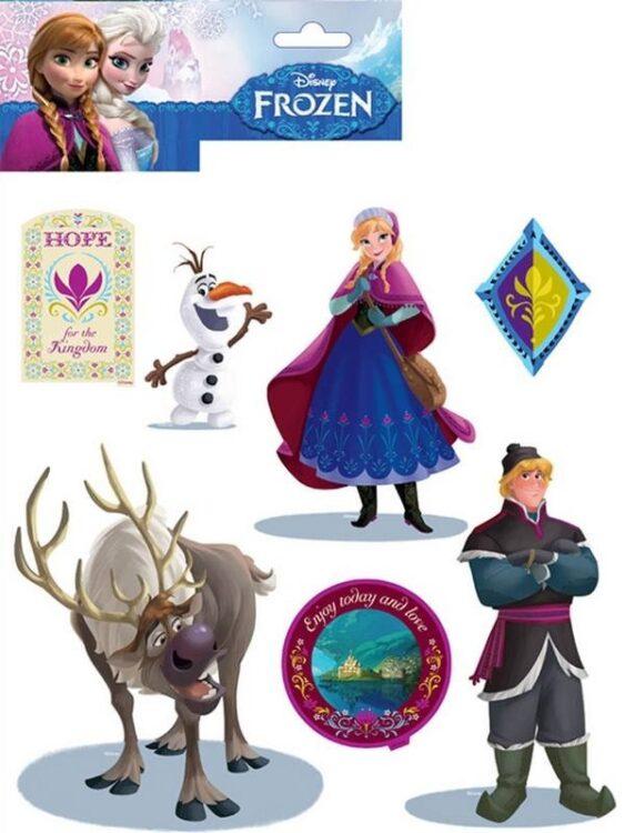 Adesivi murali Disney Frozen 14pz