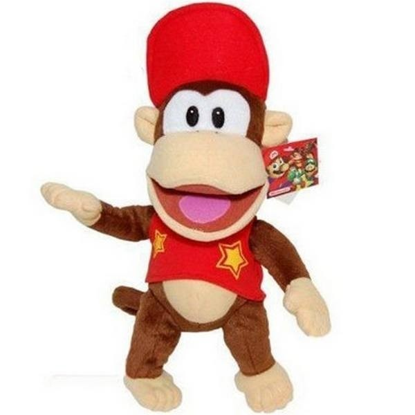 Peluche Super Mario Donkey Kong Junior 25cm
