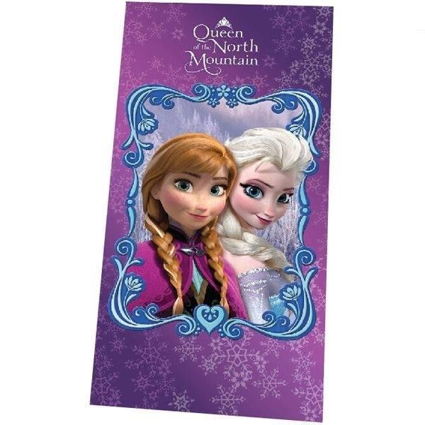 Asciugamano telo mare Disney Frozen Queen of Montana