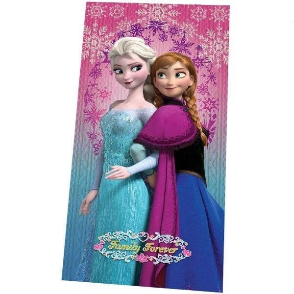 Asciugamano telo mare Disney Frozen Family Forever