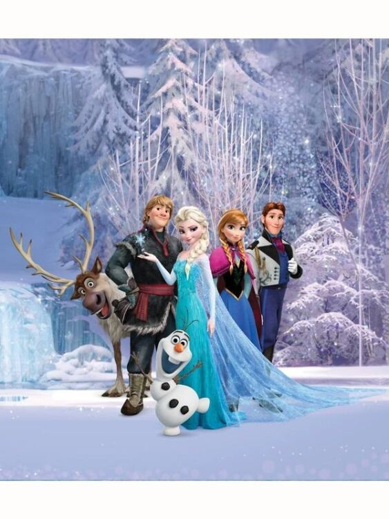 Fotomurale Disney Frozen 202cm x 180cm