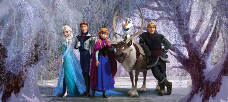 Fotomurale Disney Frozen 202cm x 90cm