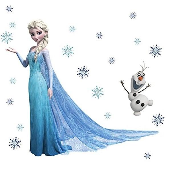 Wall stickers Disney Frozen Elsa Olaf ed Anna