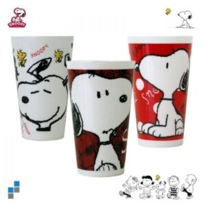 Bicchiere in plastica Snoopy