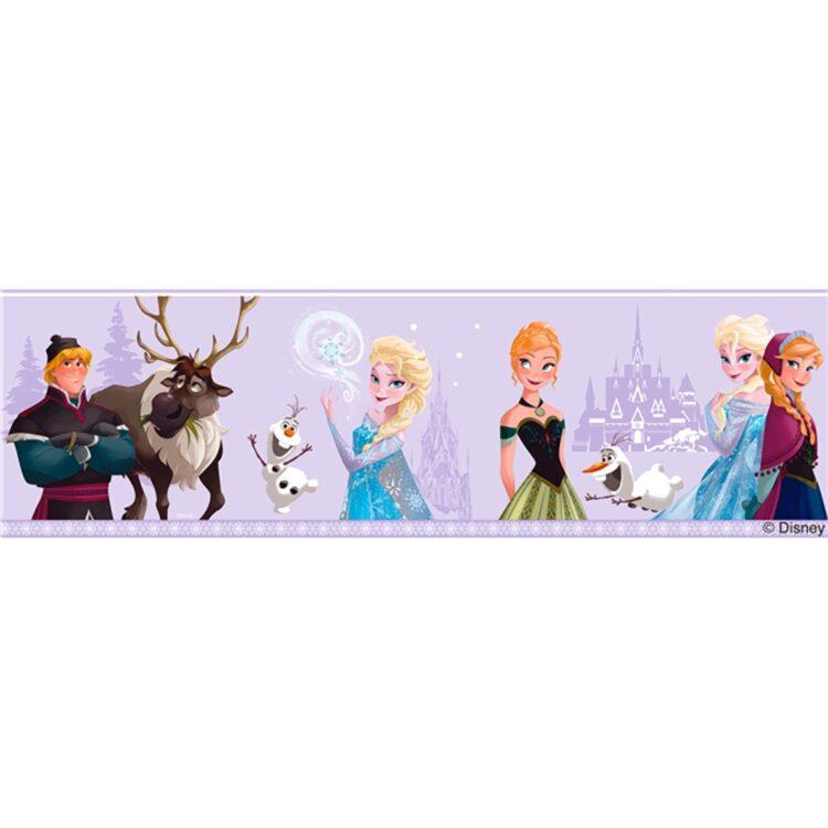 Bordo adesivo Disney Frozen Lilla 5mt
