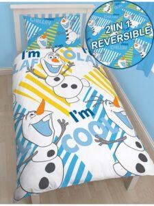Parure copripiumino singolo Olaf Disney Frozen