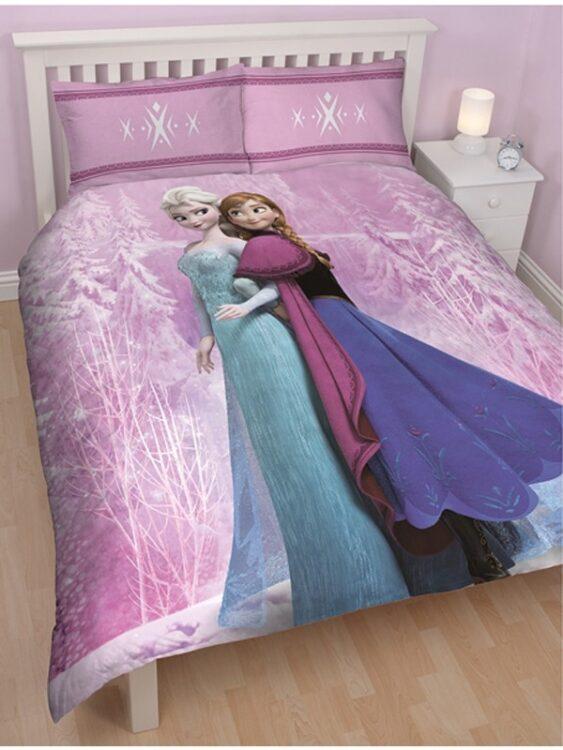 Parure copripiumino matrimoniale Disney Frozen Spring
