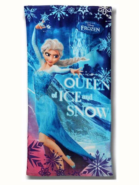 Asciugamano telo mare Disney Frozen Regina del Ghiaccio